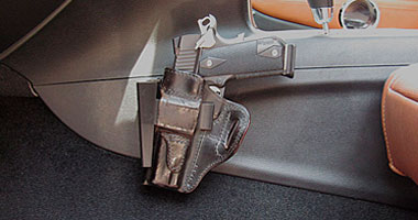 Standard Holster Rest - Car Gun Mount