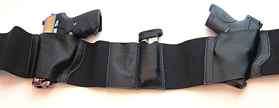 Ambidextrous Belly Band Holster