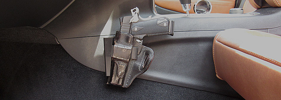 Standard Holster Rest -Car Gun Mount