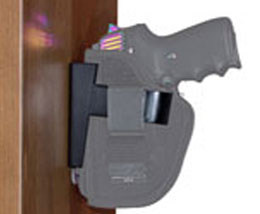 Wide Holster Rest- Nightstand Gun Mount