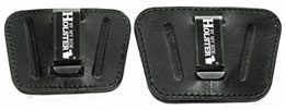 Small and Large Premium Bullhide Leather Slide Holsters